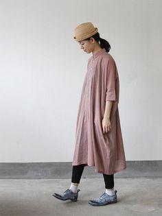 ARTSSCIENCE Pull over big shirt dress