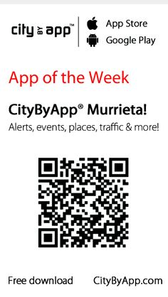 Get the FREE Murrieta California mobile app!