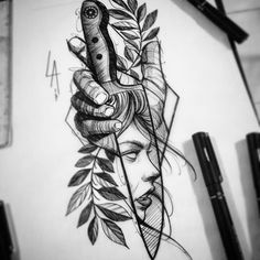 Тату и эскизы #AwesomeTattooIdeas