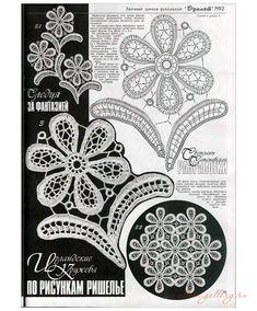 Irlanda fiori e foglie - fun Crochet - fun blog all'uncinetto