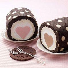 Heart Cake Roll