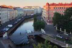 Львиный мост через канал Грибоедова