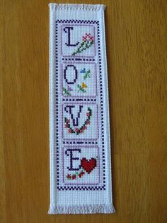 Your place to buy and sell all things handmade Crochet Bookmarks, Cross Stitch Bookmarks, Cross Stitch Books, Cross Stitch Cards, Simple Cross Stitch, Counted Cross Stitch Kits, Cross Stitching, Cross Stitch Embroidery, Cross Stitch Designs