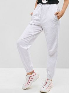They are beautiful, lovable and affordable. You deserve it! Diy Jogger Pants, Jogger Pants Style, Joggers, Sweatpants, Cropped Jumper Outfit, Fashion Pants, Fashion Night, Pop Fashion, Mens Fashion