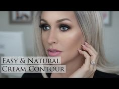 How To: Quick Easy Natural Cream Contour - YouTube