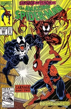 The Amazing Spider-Man #362 - Carnage, Part Two: Savage Alliance!