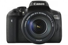 Canon EOS 750D (T6i) DSLR Camera with 18-135mm Lens