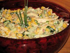 Ogórkowo-serowa sałatka do grilla - zdjęcie 2 Side Salad, Pasta Salad, Potato Salad, Cabbage, Bbq, Food And Drink, Rice, Vegetables, Cooking
