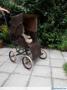 oude kinderwagen - buggy  TORCK