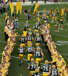 They may have lost today, but I still love my GB Packers!