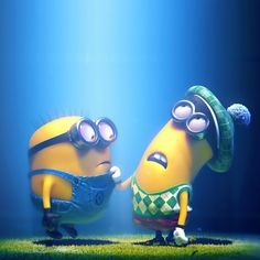 Cute Minions Despicable Me #iPad #wallpaper