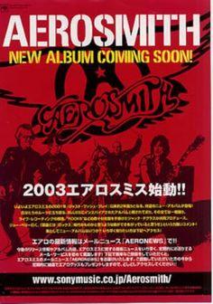 Aerosmith Aerosmith - New Album Coming Soon! handbill Japanese AERHBAE319237