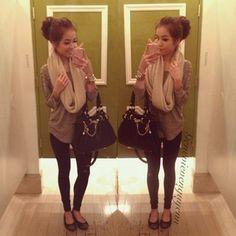 Super cute outfit.