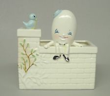 Humpty Dumpty Sat On A Wall Nursery Rhyme Flower Planter