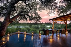 Tinga Lodge - South Africa Perched on the banks... | Luxury Accommodations