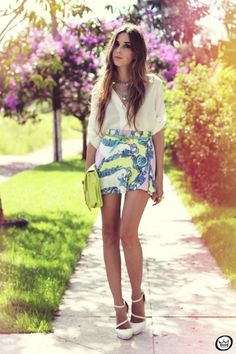 Printed Skirt – Fashion Coolture