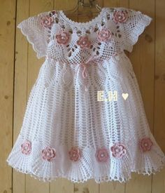 Craft Oasis: Romantic pink dress for girls (•◡•)