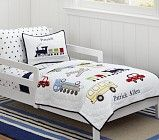 Backseat Driver Toddler Quilted Bedding | Pottery Barn Kids