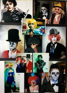A few photos of my work - masks