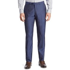 Armani Collezioni Wool Blend Sport Pant ($415) ❤ liked on Polyvore featuring men's fashion, men's clothing, men's pants, men's dress pants, apparel & accessories, mens sports pants, mens zip off pants, mens sport pants, mens zipper pants and mens flat front dress pants