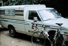 Support vehicle for Bikecentennial by bikinbill, via Flickr