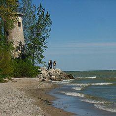 Pelee Island, Ontario, Canada, north shore Lake Erie