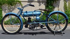 Vintage Cleveland motorcycle