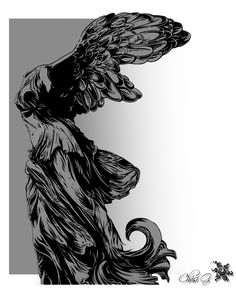 Nike of Samothrace by Silence-is-gold.deviantart.com on @deviantART