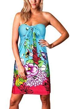 1ef9c523f6cd Angela Bandeau Knee Length Summer Dress
