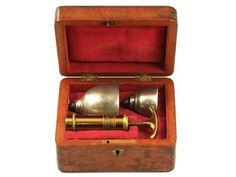 Vintage breast pump from the 1830s.