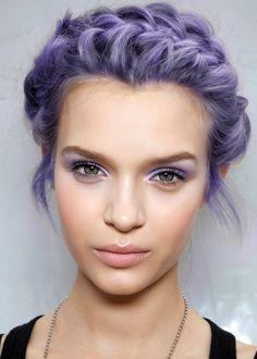 Amazing purple braid