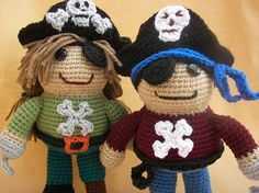 1000+ images about Pirates on Pinterest Amigurumi, Dolls ...