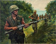 US soldiers in Vietnam