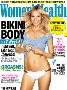 Check out Gwyneth Paltrow on the cover of Women's Health June 2015 issue!
