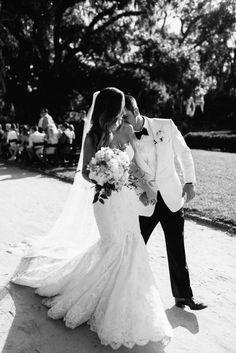 Featured: Grey Likes Weddings - Design: Ooh Events - Photography: Sean + Elizabeth - Venue: Boone Hall Plantation
