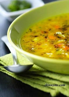 I LOVE this Flush Fat Soup recipe! Delicious and is packed with antioxidants. #flushfatsoup