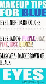 GottaGetBeauty.com: Makeup tips for BLUE eyes!