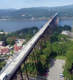 Walkway over the Hudson, Poughkeepsie, New York, USA
