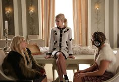 """The Chanels in the first part of the Scream Queens season finale """"Dorkus"""""""