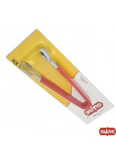 Buy Glare Ice Tongs Red-52031R online at happyroar.com