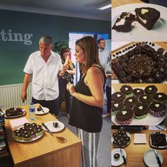 Week one of our 2016 #GBBO got off to a great start with plenty of chocolate.  Well done to Account Exec Becki for making it to the next round.