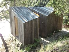Building: Sauna in the Woods Architect: Panorama Location: Lago Ranco, Chile Why We Like This: Yesterday we posted a top 10 of our favorite saunas and baths . Lakeside View, Lake View, Sauna Design, Wooden Facade, Deconstructivism, Timber Structure, Timber Cladding, Small Buildings, Interior Architecture