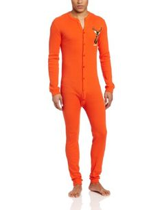 d357328d502f17 Orange thermal long under wear . Good for hunting season. Patrick Lawrence  · Clothing · Indera - Mens Long Sleeve Union Suit ...