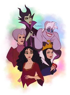 Disney Canvas Art, Disney Art, Disney And Dreamworks, Disney Pixar, Disney Villains, Disney Characters, Disney Princess Drawings, Funny Disney Memes, Twisted Disney