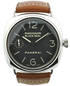 We're in love with this Panerai Radiomir Black Seal PAM00183 #Panerai #Watches $5500