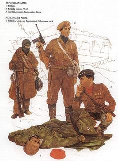 Spanish Civil War Republican Uniforms