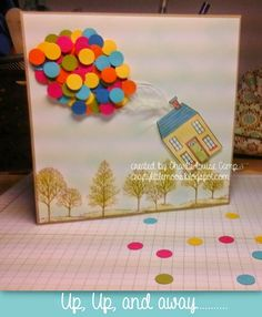 Up! card using Stampin Up! supplies SU holiday home A/W catalogue 2014
