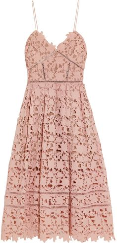 11a0fd825c Wouldn t this blush beauty be perfect for a bridal shower or bachelorette  party  Self-Portrait Azaelea Guipure Lace Dress