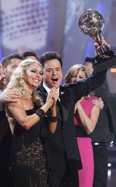 Kim Johnson & Donnie Osmond  -  Season 9 champs  -  Dancing With the Stars  -  fall 2009