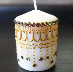 Regal Henna Candle Henna Inspired Home/Wedding Decor and